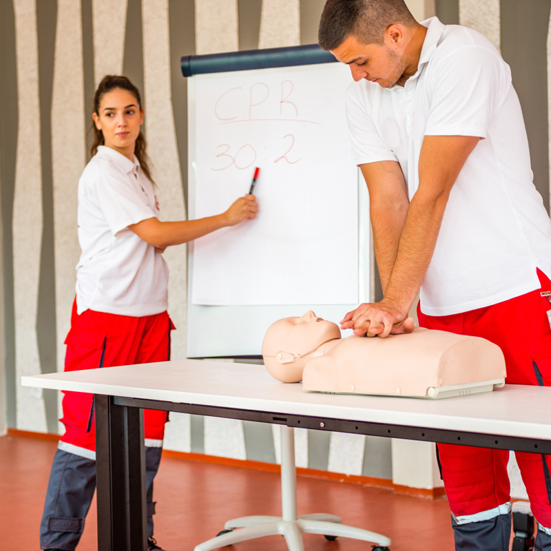 first aid trainers - wellbeing insurance